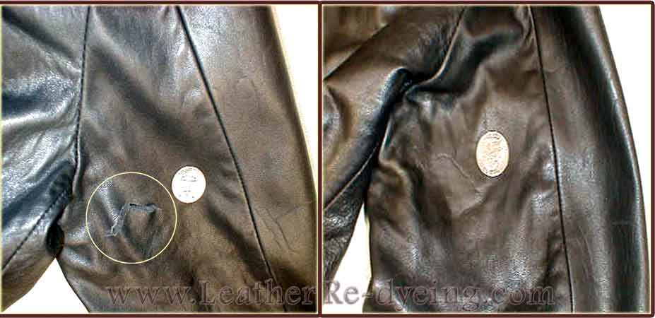 Leather Jacket Scuff Repair Leather Jacket Scratch Repair ...